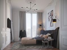Bed room_9 on Behance