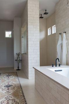 Dream Bathrooms, Beautiful Bathrooms, Modern Bathroom, Master Bathrooms, Master Baths, Master Master, Small Bathrooms, Farmhouse Bathrooms, Minimal Bathroom