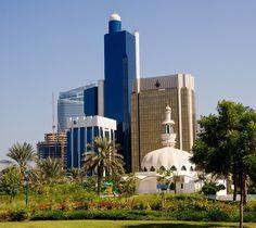 Downtown Abu Dhabi, UAE.