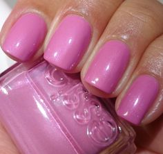 Essie: Bridal Collection 2013 My Better Half Essie Pink Nail Polish, Nail Polish Blog, Nail Blog, Nail Polish Colors, Essie Colors, Simple Nail Art Designs, Toe Nail Designs, Nail Polish Designs, Pretty Nail Colors
