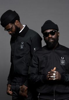Fred Perry Taps Art Comes First for Subversive Capsule Collection: Sam, Shaka and Fred. Fashion Week, Mens Fashion, Fred Perry Polo, Fred Perry Jacket, Afro Punk, First They Came, Fashion Quotes, Looks Style, Mode Style