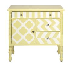 Store all your essential things in one place in an organized way with this stylish Hardy yellow graphic print chest. This chest is made from durable mater...