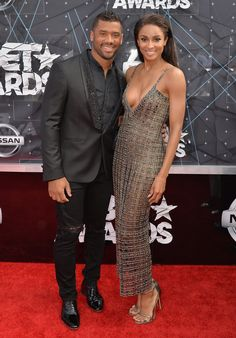 Ciara and Russell Wilson's red carpet style = perfection. Click through to see their sexy new pictures!