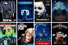 The best 80's horror movies.