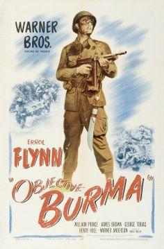Objective Burma (1945) starring Errol Flynn