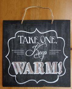 Handmade rustic wedding blackboard for vintage/outdoor/barn/rustic style wedding