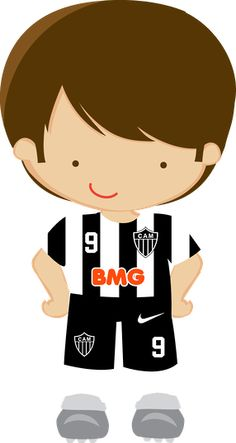 Futebol - Minus Clipart Boy, Cute Clipart, Sports Clips, Soccer Party, Football Pictures, Child And Child, Cute Images, Portfolio, Baby Quilts