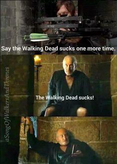 2 of my favorite shows! Walking Dead Memes, The Walking Dead 3, Norman Reedus Funny, George Foreman, Walk The Earth, Stuff And Thangs, Daryl Dixon, I Laughed, Divergent