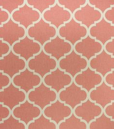 Home Décor Upholstery Fabric - Bishop Pink