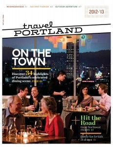 Travel Portland's new visitor guide - released last week!