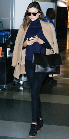 7 Ways to Wear High-Top Sneakers Like Olivia Palermo, Blake Lively, and More - Miranda Kerr  - from InStyle.com