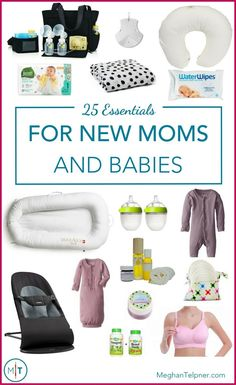 25 Essentials for New Moms and Babies | Top Eco-Friendly Products