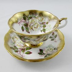 Royal Albert Tea Cup and Saucer Treasure Chest Series