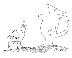 Image result for saul steinberg cats