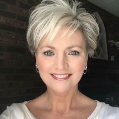 Easy Hairstyles For Thick Hair, Pixie Haircut For Thick Hair, Short Thin Hair, Short Hair With Bangs, Short Hair With Layers, Short Hair Cuts For Women, Short Hairstyles With Bangs, Pixie Cut With Bangs, Pixie Cuts