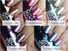 flutter and sparkle: Nails: The new colour chrome collection by Models Own