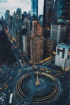 "I Fell In Love With The City That Never Sleeps Columbus Circle & Central Park South. Photo by Jose ""Tutes"" TutivenColumbus Circle & Central Park South. Photo by Jose ""Tutes"" Tutiven Oh The Places You'll Go, Places To Travel, Travel Pics, Ville New York, A New York Minute, Voyage New York, Columbus Circle, Columbus City, City Vibe"