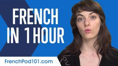 Learn French in 1 Hour - ALL You Need to Speak French - YouTube English Tips, English Study, English Lessons, Why Learn French, How To Speak French, French Conversation, Conversation Topics, Learning English Online, English Course
