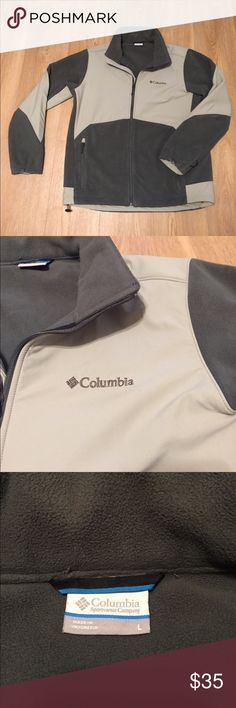 Men's large Columbia jacket Like new men's Columbia jacket. Zip up front and zip pockets on sides. Columbia Jackets & Coats