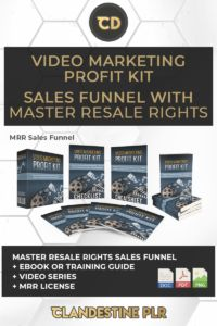 Video Marketing Profit Kit Sales Funnel With Master Resale Rights  | #MasterResaleRightsSaleFunnels #MRRSaleFunnels #MRRProducts #MRR #MasterResaleRights Cold Hard Cash, Squeeze Page, Future Videos, Do Video, Dear Future, Online Business, Kit, Marketing