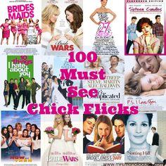 100 Must See Chick Flicks