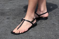 women wearing thong sandals - Google Search