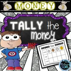 Tally the MONEY - Fun and engaging resource for your Math stations.