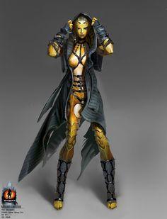 D'Vorah Concept from Mortal Kombat X