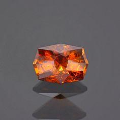 Excellent Fiery Orange Sphalerite Gemstone from Spain 1.71 cts.