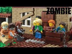 Lego Zombie Outbreak Episode 8 Stop Motion Animation Lego Zombies, Stop Motion, Disney Characters, Fictional Characters, Animation, Youtube, Art, Art Background, Kunst