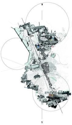 urban analysis city Landscape Architecture Urban analysis city , stadtanalyse stadt , ville d'analyse urbaine , ciudad de análisi Croquis Architecture, Collage Architecture, Site Analysis Architecture, Architecture Mapping, Architecture Graphics, Architecture Portfolio, Landscape Architecture, Architecture Diagrams, Masterplan Architecture