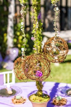 Fairy Garden Birthday Party Ideas | Photo 1 of 47 | Catch My Party