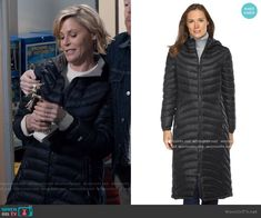 Claire's black puffer coat on Modern Family Julie Bowen, Modern Family Episodes, Black Puffer Coat, Other Outfits, Down Coat, Winter Coat, Claire, Winter Jackets, Fashion Outfits