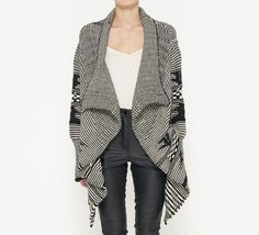 Yigal Azrouël Black And White Sweater