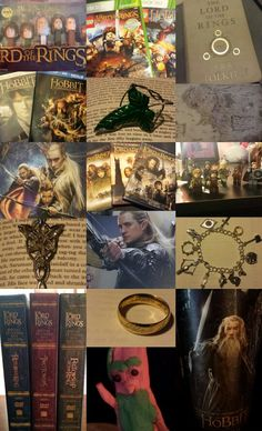 LOTR 30 Day Challenge.  Day 29: My collection! One does not simply have to much Lord of the Rings merchandise. :)