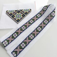Bilderesultat for fanabunad bringeduk Floral Tie, Tie Clip, Norway, Doll Clothes, Diy And Crafts, Ribbon, Traditional, Embroidery, Band