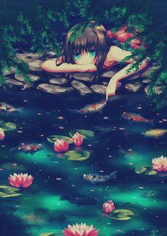 Arte,demostración de tristeza profunda y soledad.Momento de soledad para reflexionar y pensar mejor las cosas.....