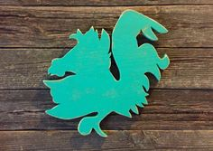 A personal favorite from my Etsy shop https://www.etsy.com/listing/191165699/distressed-turquoise-gamecock-wood-sign