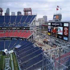 LP Field. Home of the Tennessee Titans. Nashville, TN.