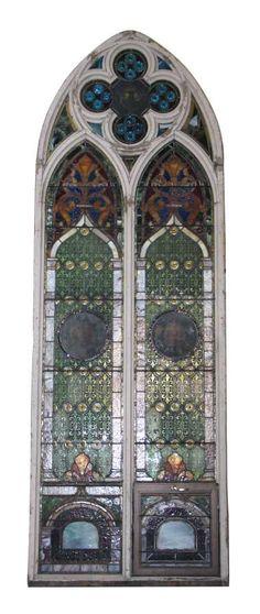 salvaged nyc bronze palladian window transom | architecture