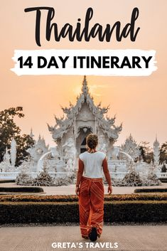 Planning a trip to Thailand? This is the itinerary for you! In this Thailand itinerary I have covered day-by-day all the best places to visit and things to do, to ensure you have an all rounded experience in Thailand, including nature, beache Phuket Thailand, Beste Reisezeit Thailand, 10 Days In Thailand, Thailand Vacation, Visit Thailand, Thailand Itinerary 2 Weeks, Bangkok To Do, Chang Mai Thailand, Thailand Destinations