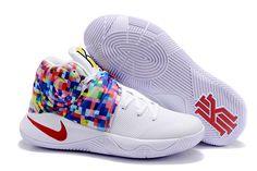 NIKE Kyrie Irving 2 Effect Tie Dye Basketball Shoes AAAA-040