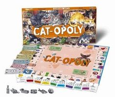 Amazon.com: Cat-Opoly Kitty Cat Breed Monopoly Board Game Educational Toy Featuring: Egyptian Mau, Somali, Chartreux, Tonkinese, Ocicat, Persian, Main Coon, Siamese, Abyssinian, Birman, Scottish Fold, American Shorthair, Norwegian Forest Cat, Burmese, Sphynx, Ragdoll, Russian Blue, British Shorthair, Manx, Himalayan, Turkish Van: Toys & Games