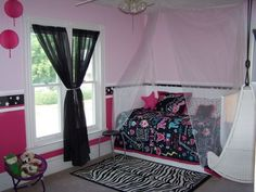11 Year Old Bedroom Ideas zebra and hot pink - 11 year old girl | kids room | pinterest | 11
