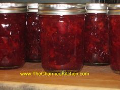 Strawberry-Vanilla Jam