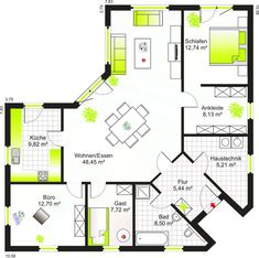 Floor plan of Bungalow 117 - Floor plan of Bungalow 117 Information about . Sims House Plans, House Layout Plans, Dream House Plans, Small House Plans, House Layouts, House Floor Plans, Home Building Design, Home Design Plans, Building A House