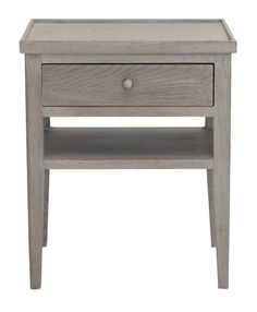 HICKS and HICKS Classic Side Table - This Classic Side table is beautifully hand made from Oak and is given a slightly washed finished to enhance the grain. It is just at home next to the bed f. End Tables, Bedside Tables, Living Area, Home Furnishings, Bedroom Furniture, Interior Design, Classic, Ant, Cement