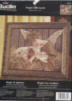 Gallery.ru / Фото #1 - 11.5 - luci0510 Cross Stitch, Barn, Embroidery, Frame, Painting, Home Decor, Angel, Sewing, Gallery