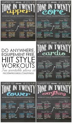 HIIT is likewise accountable for building muscle mass. This is since HIIT constructs endurance and triggers more blood circulation with better contractility to the muscles. Fitness Motivation, Fitness Routines, Daily Motivation, Fitness Challenges, I Work Out, Get In Shape, Excercise, Stay Fit, How To Stay Healthy