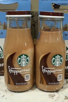 Starbucks Frappuccino Bottle Candles  Repurposed by CandlesByOC